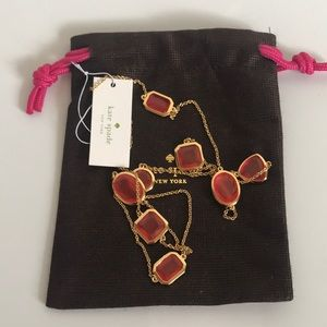 Kate Spade NWT Vegas Jewels necklace